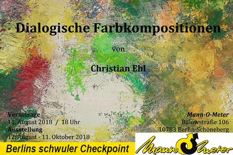 Ausstellung Christian Ehl - neue Ausstellung im Mann-O-Meter