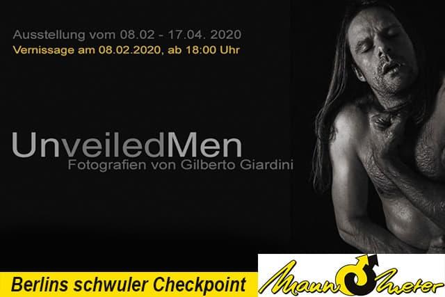 Gilberto01 - neue Ausstellung im Mann-O-Meter