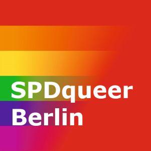 Logo SPDqueer Regenbogendesign 1 - SPDqueer Berlin – Arbeitsgemeinschaft in der Berliner SPD für Akzeptanz und Gleichstellung