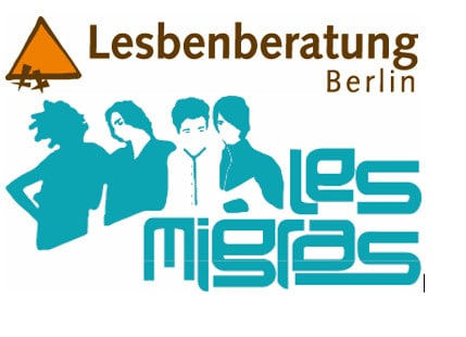 Logo LBLM - Lesbenberatung Ort für Kommunikation, Kultur, Bildung und Information e.V.LesMigraS