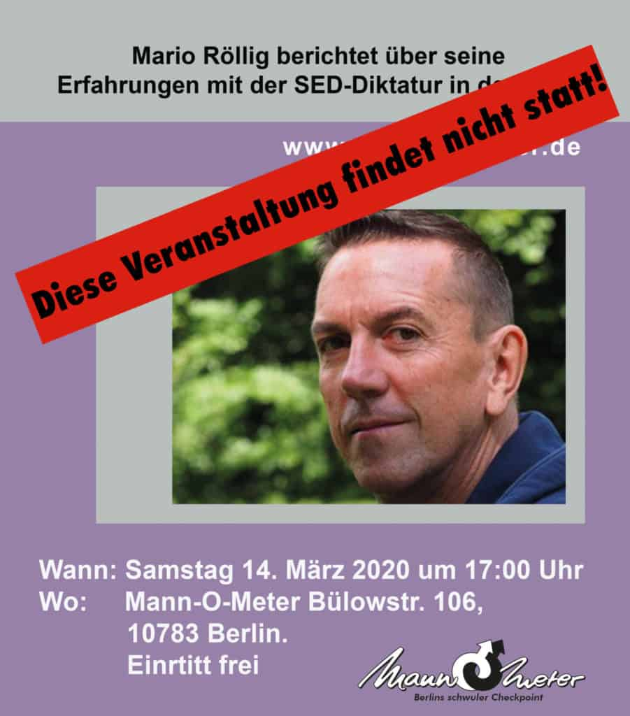 Mario Röllig Web 1 901x1024 - Vortrag im Mann-O-Meter