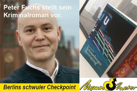 Peter Fuchs - Lesung im Mann-O-Meter