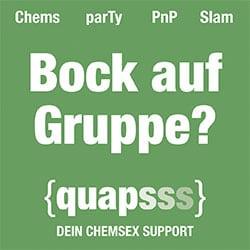 QUAPSSS Grashopper - ChemSex - Beratungsangebote - quapsss
