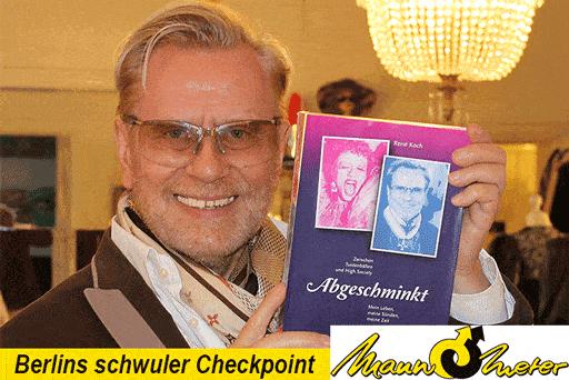 Rene Koch - Lesung im Mann-O-Meter