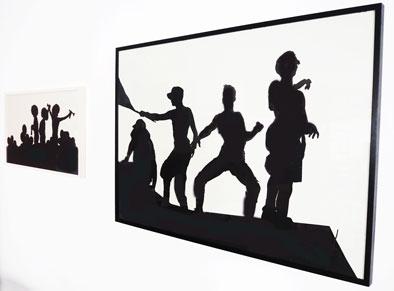 """Thiel schwarz weiss 2 - """"PARADE"""" - Neue Ausstellung im Mann-O-Meter"""